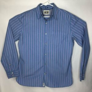 Converse One Star Button Men's Shirt Size Large